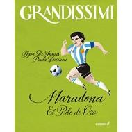 Libro Maradona El pibe de oro Libro di Igor De Amicis e Paola Luciani