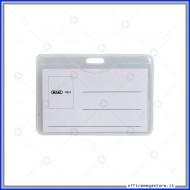 Portanomi in PVC morbido 0.35mm, senza clip Wiler PB03