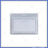 Portanomi in PVC morbido 0.25mm senza clip  Wiler PB02