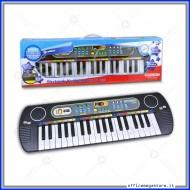Tastiera Electronic Keyboard a 37 tasti on presa USB 8 suoni e 6 ritmi regolarizzazione volume, Genius Bontempi cod. 123780