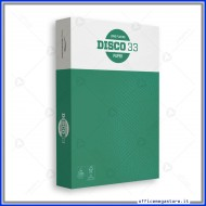Carta A4 Disco33 risma bianca 500 fogli 75g per fotocopie Burgo Distribuzione