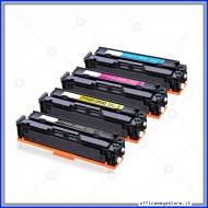 HP 203x Kit 4 colori 540x 541x 542x 543x toner cartridge compatibile alta capacità per Stampante MFP M281fdw