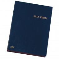 Libro Alla Firma in Dermoide Formato 24x34 - Dorso a Soffietto - 0252