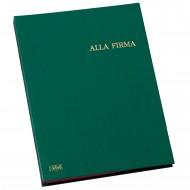 Libro Alla Firma in Dermoide 14 Intercalari Formato 24x34 - Dorso a Soffietto - 0251