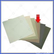 "Carta grezza colore kraft scuro formato 12""x 12"" (305x305mm) 220 gsm Wiler CP220R1212C5"