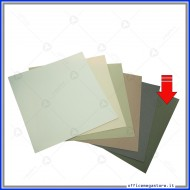 "Carta grezza colore verde formato 12""x 12"" (305x305mm) 220 gsm Wiler CP220R1212C7"