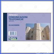 Comunicazioni Telefonate Ricevute 100 fogli Gruppo Buffetti DU162200000