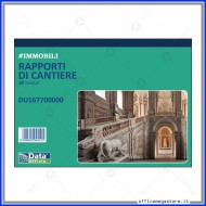 Rapporto di Cantiere 50 Fogli Gruppo Buffetti DU167700000