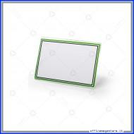 Targhetta Multiuso in elegante Acrilico trasparente 10x6.5cm Lebez 50980