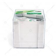 Cubo carta bianca con contenitore per appunti dorso incollato Lebez J-9910