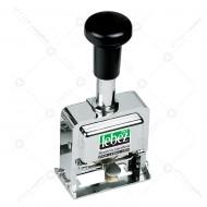 Numeratore Automatico a 10 Cifre da 5 mm interamente in Metallo, 2 ripetizioni Lebez 207