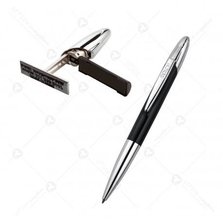 Penna con Timbro tascabile Stamp Writer Exlusive Nero Colop 130185
