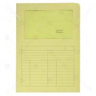 Cartelline 3 lembi Sintex colore giallo Con Finestra 120gr formato 22x31cm blister da 50 cartelle Blasetti 570