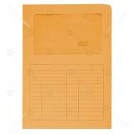 Cartelline Con Finestre Arancio Sintex 22x31cm 120g Confezione da 50g - Blasetti 571