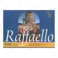 Album Faffaello carta da disegno liscia quadretto 5mm formato 24x33 da 80gr/m 10 Fogli Pigna