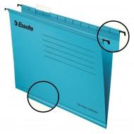 """Cartelle Sospese Blu Pendaflex Standard 390 con Fondo """"V/3cm"""" - Confezione 25 pezzi - Esselte 90334"""