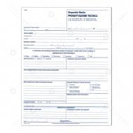 Dispositivi medici progettazioni tecniche per laboratorio odontotecnico duplice copia carta chimica Multiart 3304