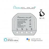 Modulo Dimmer Intelligente Wi-Fi da incasso compatibile con Google Home e Amazon Alexa Homecloud AS-DM1