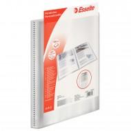 Portalistino Personalizzabile Trasparente a 60 Buste Fisse Formato A4 in PPL Morbido con Tasca Anteriore Esselte 395476040