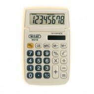 Calcolatrice da tavolo  8 cifre Custodia a Slitta W218