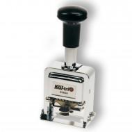 Numeratore Automatico 6 Cifre 5 mm In Metallo - Wiler KW206