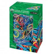 Elastici in Gomma Assortiti in vari colori 1Kg Lebez 501000