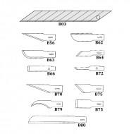 Confezione 12 Lame di Ricambio per Cutter P200 - Wiler PL200