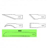 Lame di ricambio in acciaio per cutter C902 - Wiler B80