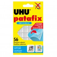 Patafix 56 Gommini Adesivi Per Fissare Trasparentii - UHU D1601