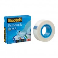Nastro Adesivo Magic Rimovibile 19mm x 33m - Scotch 811-1933