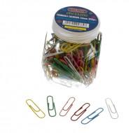 Fermagli Colorati Plastificati 200 pezzi 33 mm - Wiler SPC33200