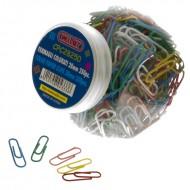 Fermagli Colorati Plastificati 250 pezzi 28 mm - Wiler SPC28250
