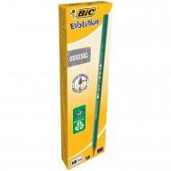 Matita Bic Evolution HB ultraresistente in resina, non fa schegge se spezzata Bic 879557