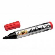 Marcatore Bic Marking 2000 Rosso