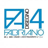 Album Disegno 4 Liscio Riquadrato - Fabriano 05201597