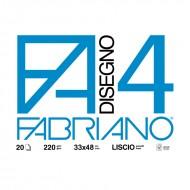 Album Disegno 4 Liscio 33x48 - Fabriano 05200797