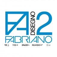 Blocco Disegno 2 Ruvido 24x33 - Fabriano 04004105