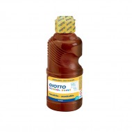 Tempera Pronta Marrone 250ml School Paint - Giotto Fila 530828