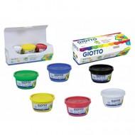 Colori a Dita 100ml 6 colori - Giotto Fila 534100