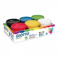Colori a Dita 200ml 6 colori - Giotto Fila 535000