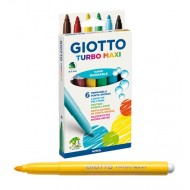 Pennarelli Turbo Maxi Astuccio da 6 - Giotto 453000