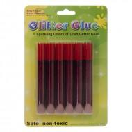 Blister Glitter Glue Rosso - Wiler GLG0610R