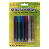 Blister Glitter Glue Assortiti - Wiler GLG0610