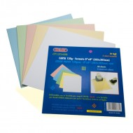 Carta Colorata 120g Formato 8x8  - Wiler CP120A88