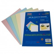 Carta Colorata 120g Formato 8x12  - Wiler CP120A812