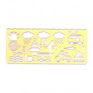 Mascherine a Simboli Vari per Bambini - Wiler T4184