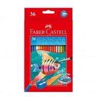 Matite Colorate Acquerellabili Astuccio da 36 - Faber Castell 114437