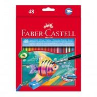 Matite Colorate Acquerellabili Astuccio da 48 - Faber Castell 114448