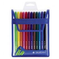 Tratto Pen Metal Look Blister 12 Colori - Tratto Fila 807700