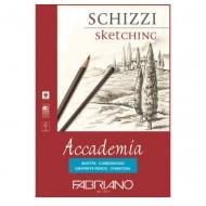 Accademia Blocchi Collati 1 Lato 14.8x21 Schizzi - Fabriano 41201421
